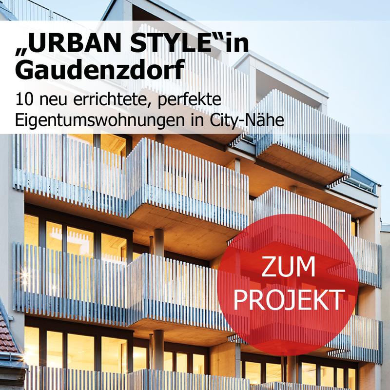 Urban Style in Gaudenzdorf - 10 neu errichtete Eigentumswohnungen