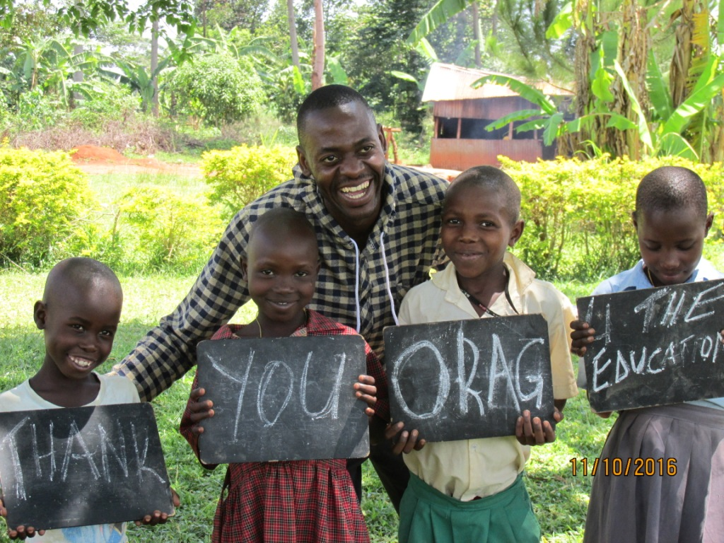 Youth project in Uganda