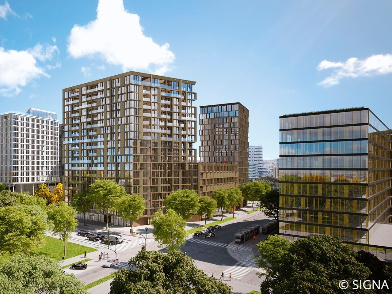BEL&MAIN Residences: Provisionsfreie Mietwohnungen im 'Quartier Belvedere'