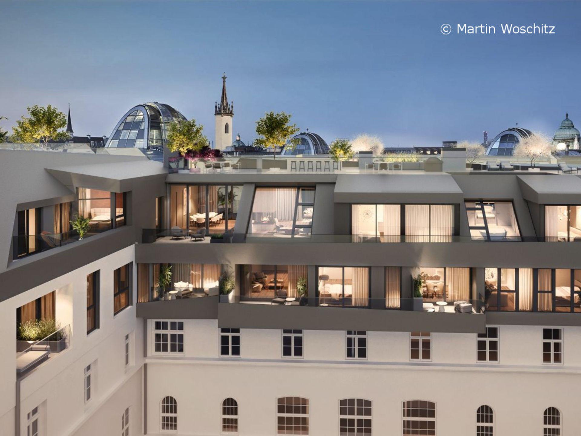 Luxus-Eigentumswohnungen im Herzen Wiens - Goethegasse 1