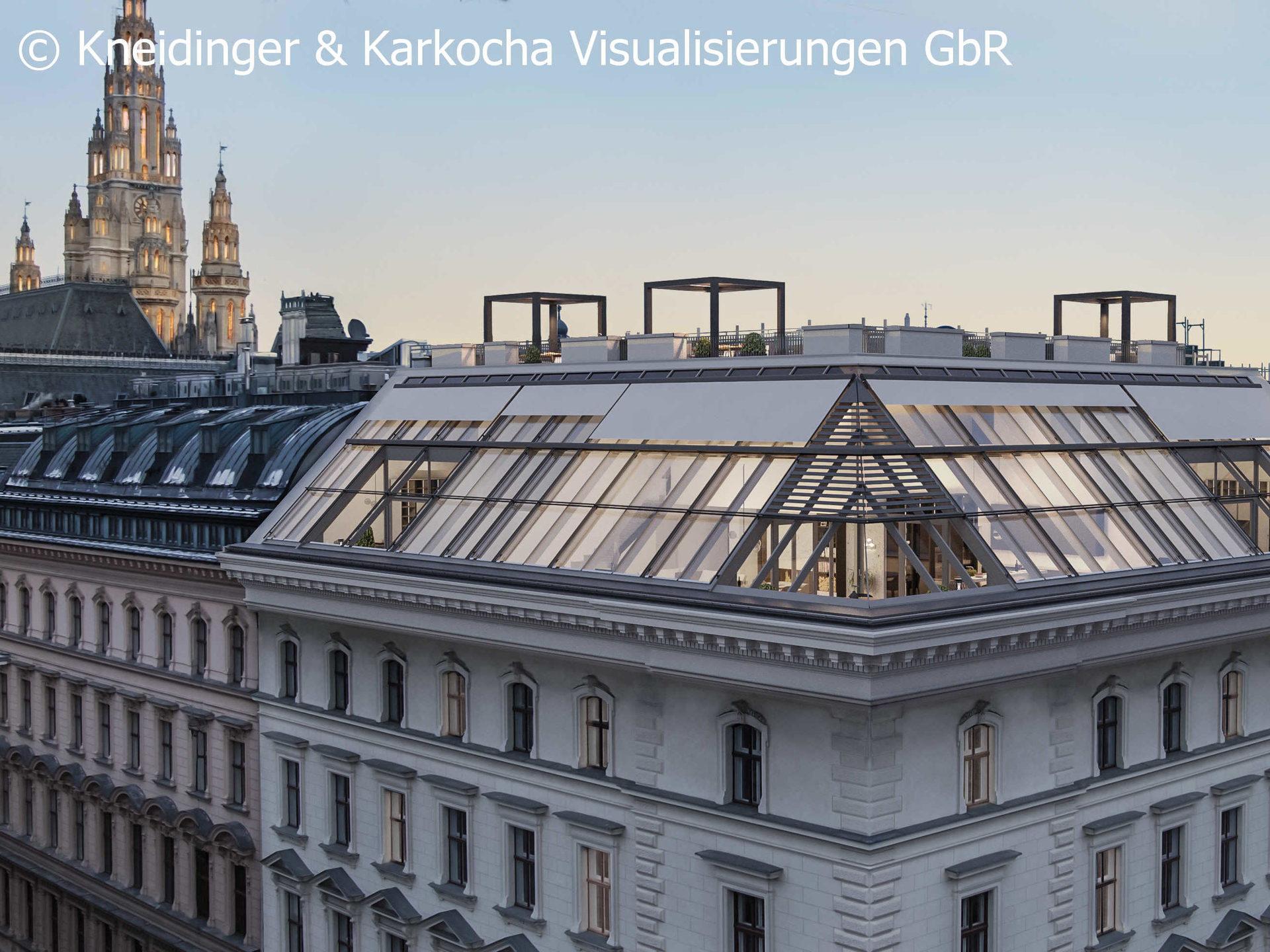 Am Rathaus - Penthäuser zu kaufen im Herzen Wiens